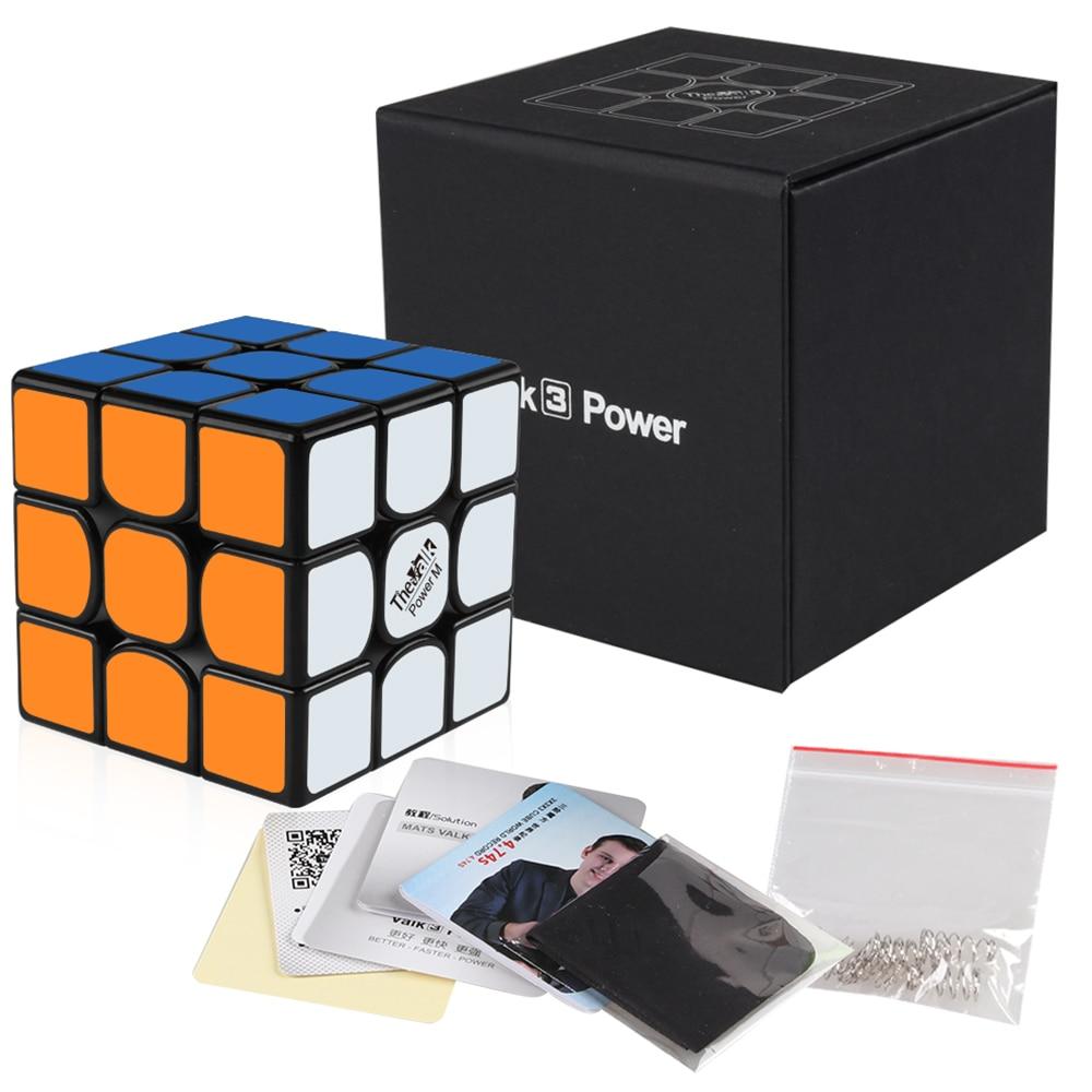 D FantiX Qiyi Mongfangge Valk 3 パワー M 磁気 56 ミリメートルスピードキューブ 3 × 3 × 3 プロ WCA ゲームマジックパズルキューブおもちゃギフト  グループ上の おもちゃ & ホビー からの マジックキューブ の中 1