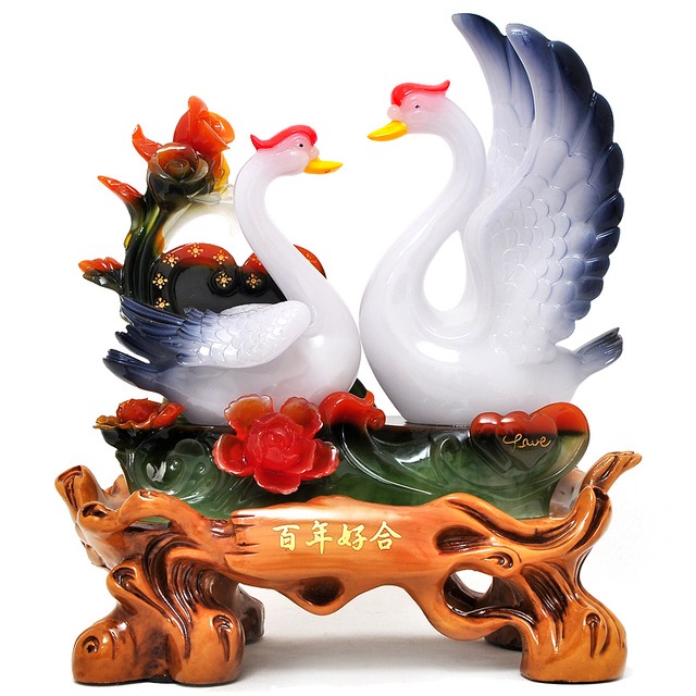 Swan ornaments wedding gift ideas and practical high end fashion swan ornaments wedding gift ideas and practical high end fashion to send girlfriends friends wedding negle Choice Image