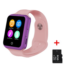 No. 1 d3 smart watch monitor de ritmo cardíaco para niños niño niña niños colorido reloj inteligente con cámara mtk6261 smartwatch
