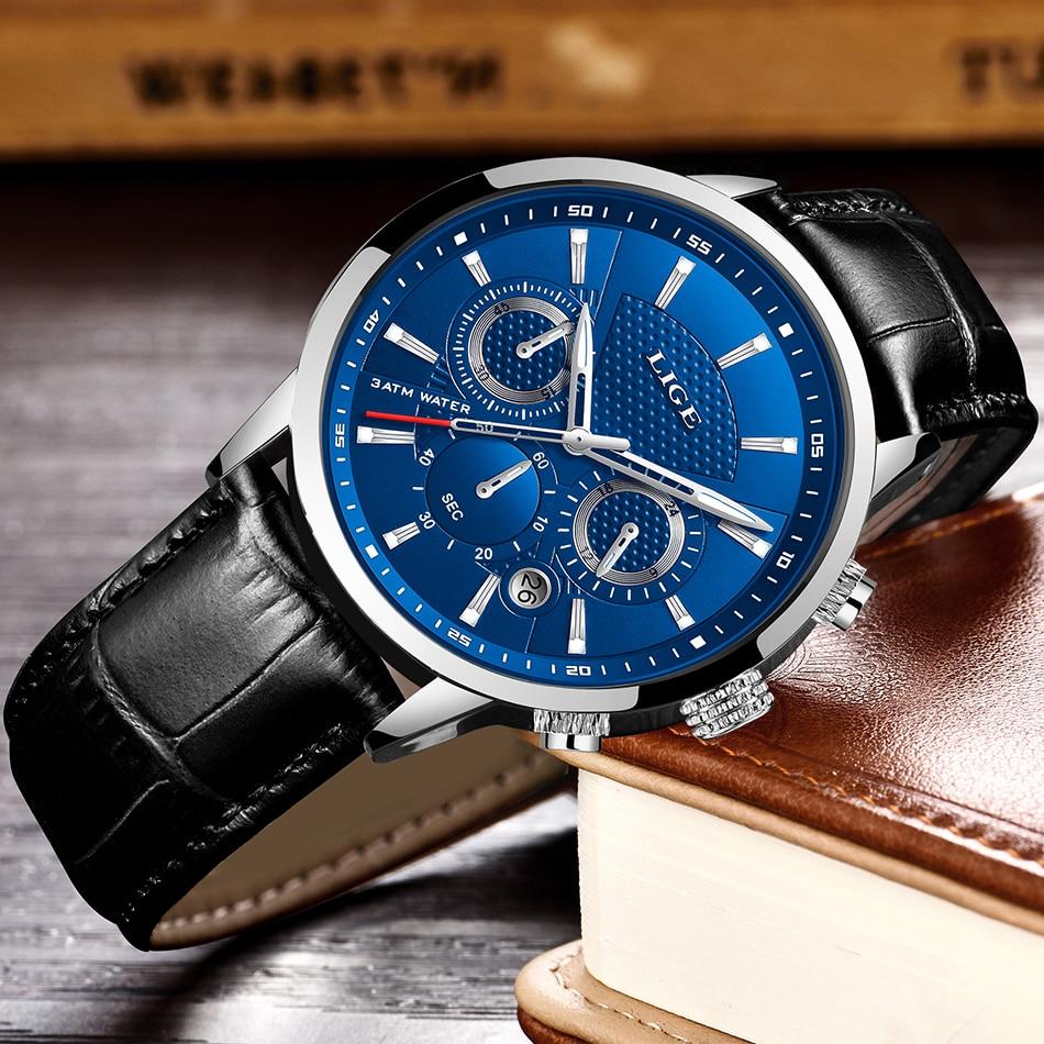 HTB1PdTRVcfpK1RjSZFOq6y6nFXa1 LIGE 2020 New Watch Men Fashion Sport Quartz Clock Mens Watches Brand Luxury Leather Business Waterproof Watch Relogio Masculino