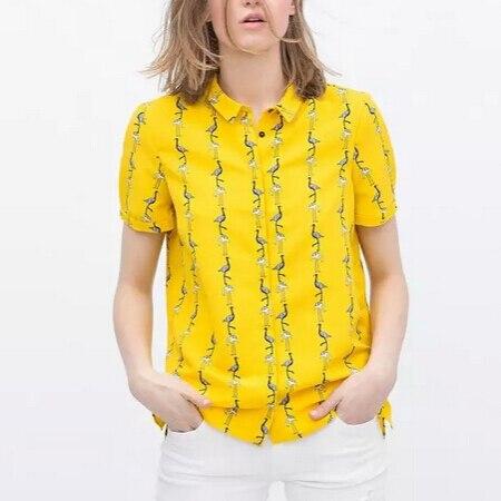 Online Get Cheap Women Yellow Button Down Shirt -Aliexpress.com ...