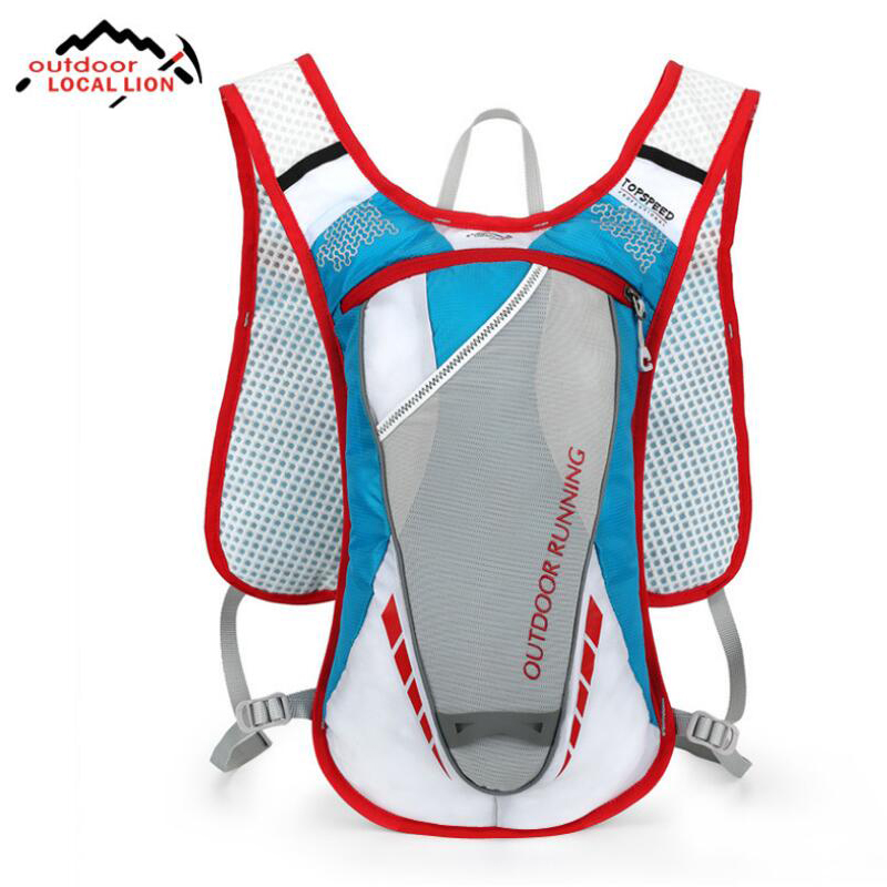 Ultralight Running Bag Outdoor Sports Backpack Trail Racing Hiking Marathon Fitness Vest Pack Running Backpack Cycling Bag