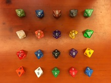 D8 dice , digital game, life calculator, magic props, TRPG DND, D8 color dice,8 face dice