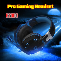 DELUXE KOTION EACH G2000 Pro Gaming Headphone Each G2000 3 5mm Pro Gaming Headset Headphone For