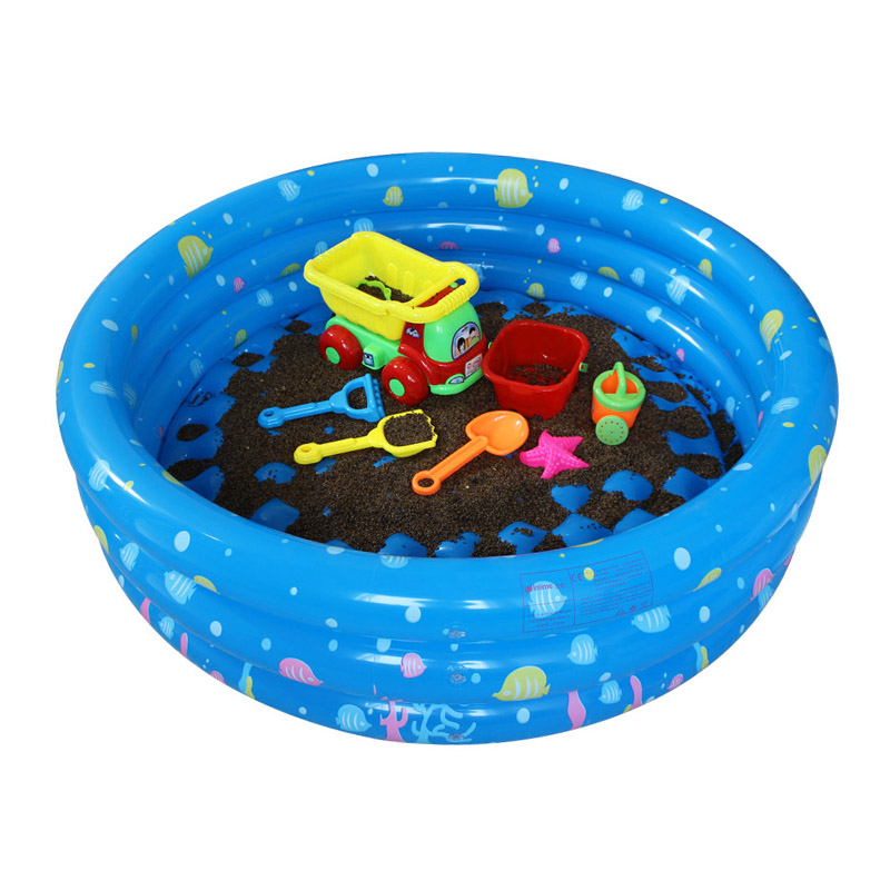 Children Round Swimming Pool Inflatable Baby Kids Play Paddling Bathtub For Home Outdoor Activities Garden Party NSV775