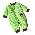 Macacão de bebê de Algodão Infantil Manga Longa Roupas de Bebê Desgaste Do Bebê Menino Menina Recém-nascidos Bebe Roupas Em Geral