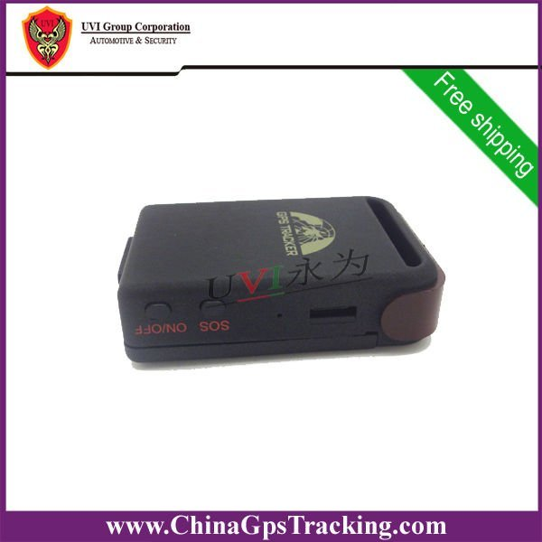 Free HK Post Shipping Human GPS Tracker with free PC-based Software and tracking by PDA, and google earth GPS-TK102