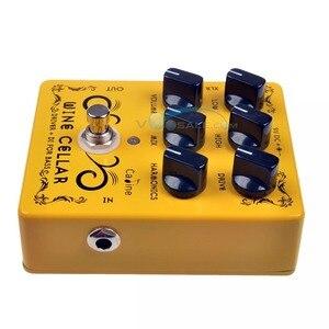 Image 4 - Caline CP 60 Driver + DI для бас гитары, педаль, аксессуары для гитары, мини педаль, запчасти для гитары, используются для гитары