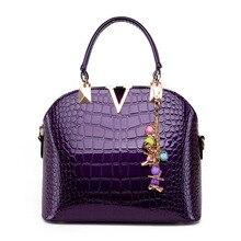 2016 neue Ankunft Luxus Marke Handtasche Berühmte Designer Klassische Frauen Taschen Bunte Damen Handtasche Lila Taschen Mode Tote HB08