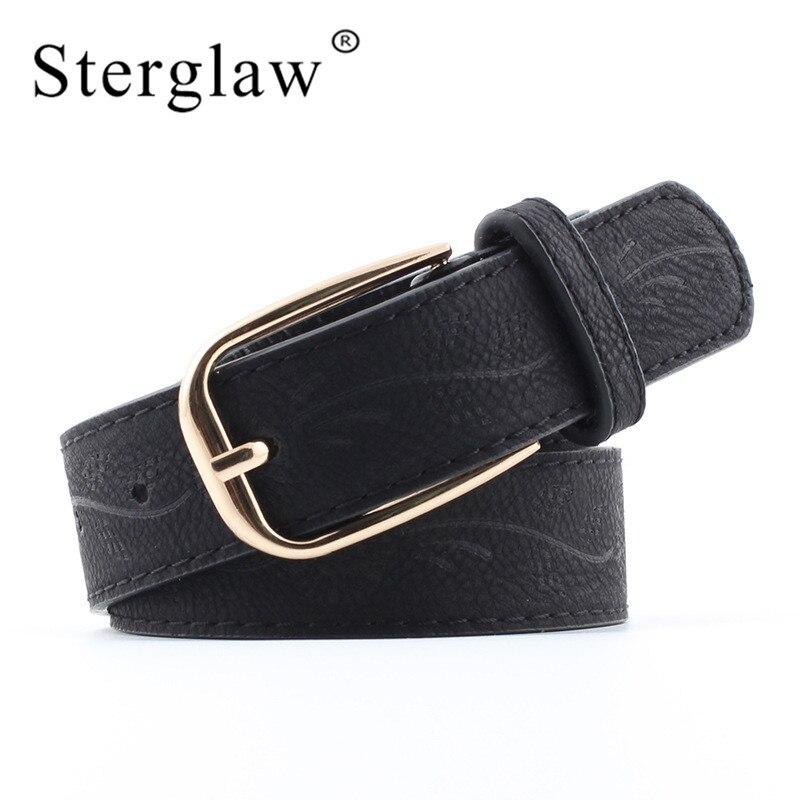 Hot fashion Retro embossed wide   belt   Jeans for women straps 2018 high quality women's   belts   Student   belt   ceinture femme N047