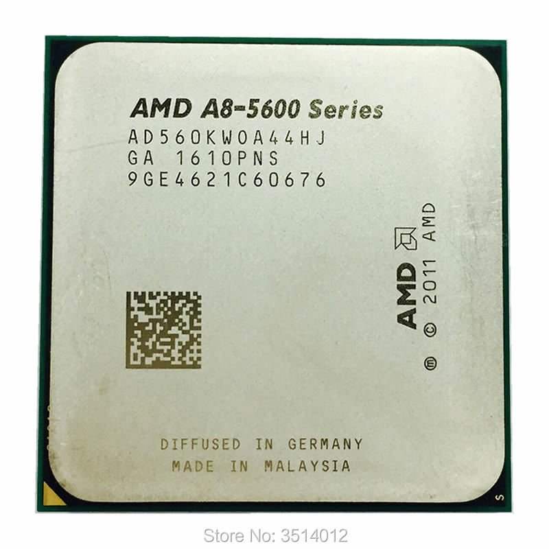 AMD A8 Series A8 5600 A8 5600K A8 5600 3 6GHz Quad Core CPU Processor AD560KWOA44HJ