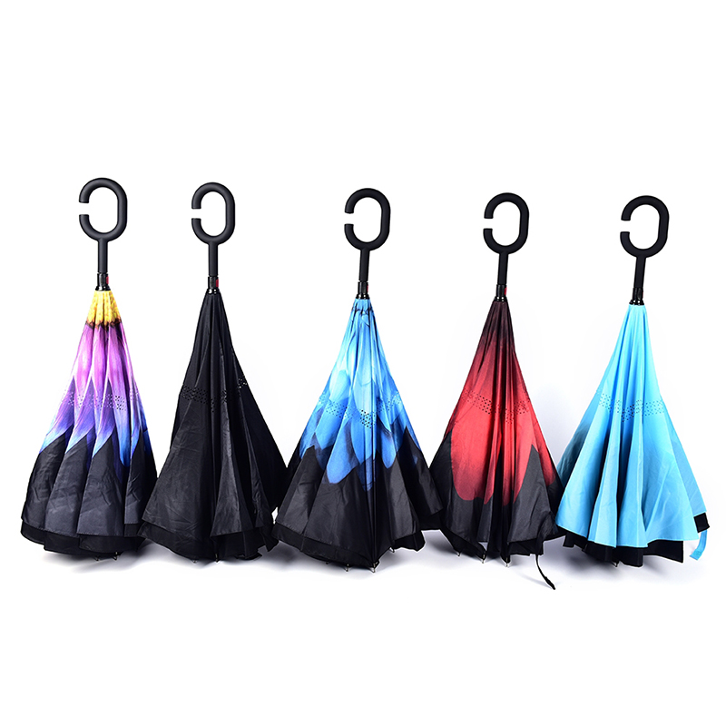 Dropship-Windproof-Reverse-Folding-Double-Layer-Inverted-Chuva-Umbrella-Self-Stand-Rain-Protection-C-Hook-Hands (1)