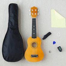 21 palců Woodiness Uicker v začátečník Kompletní vybavení Malá kytara školní vzdělávací zásoby hudebních nástrojů nástroje WJ-JX1