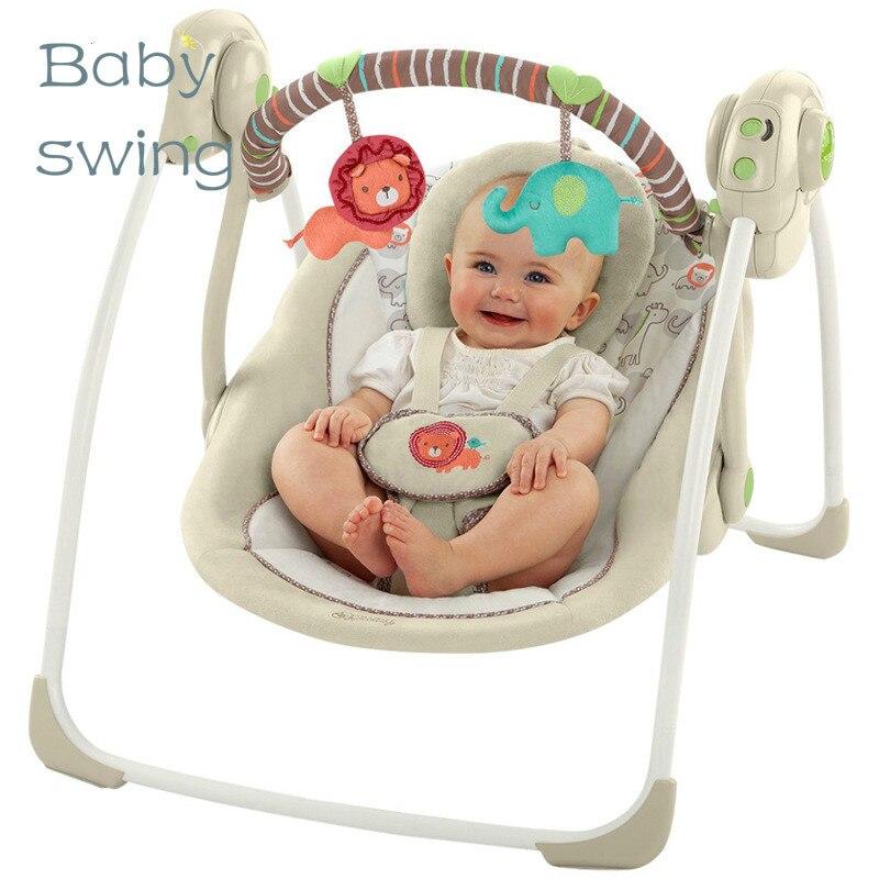 Elektrische Schommelstoel Voor Babys.Us 188 86 Olifant Trillingen Stoel Baby Swing Elektrische Baby Rustgevende Wieg Schudden Bed Schommelstoel Wieg Stoel In Olifant Trillingen Stoel
