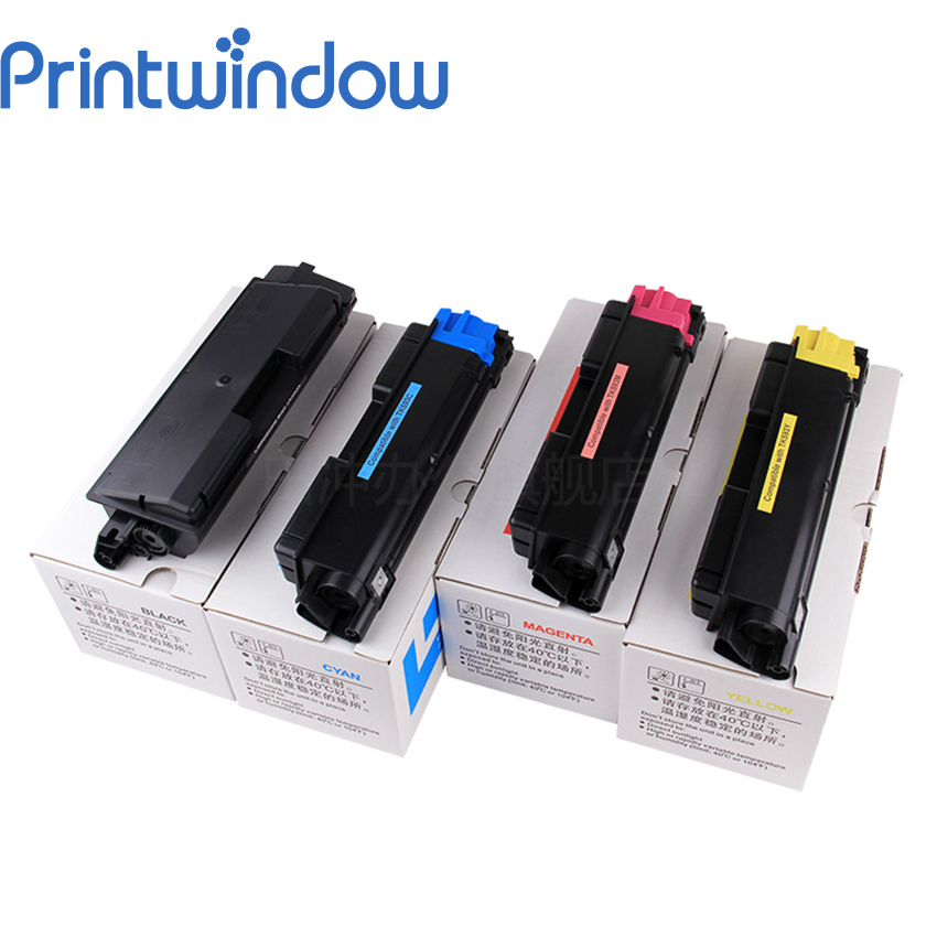 Printwindow Compatible Toner Cartridge for Kyocera FS C2026MFP/C2126MFP/C2526MFP/C2626MFP/C5250DN 4X/Set tk675 toner cartridge kit compatible for kyocera mita km 2540 2560 3040 3060