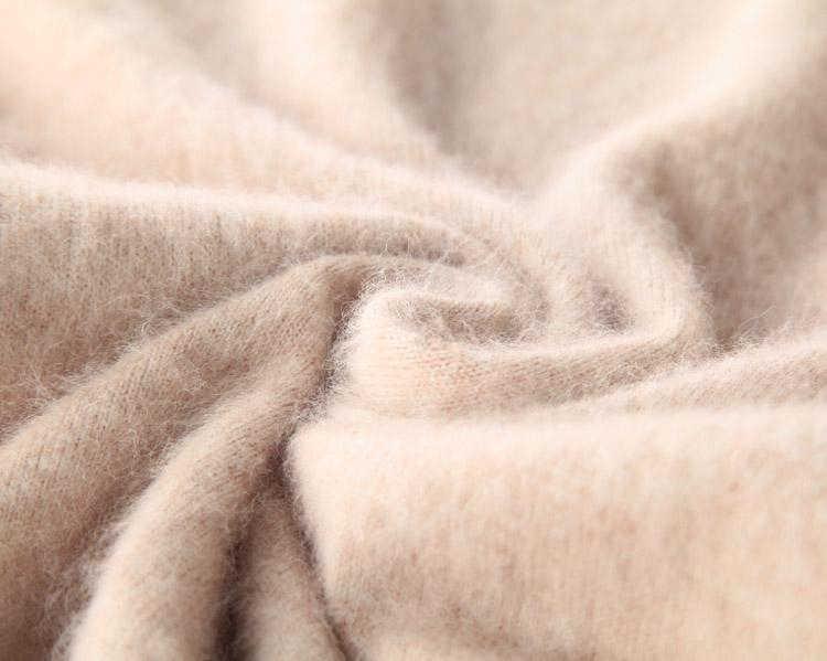 Супер теплый чистый свитер кашемир с норкой и пуловеры для женщин Осень Зима мягкий свитер Половина Водолазка Женские базовые пуловеры
