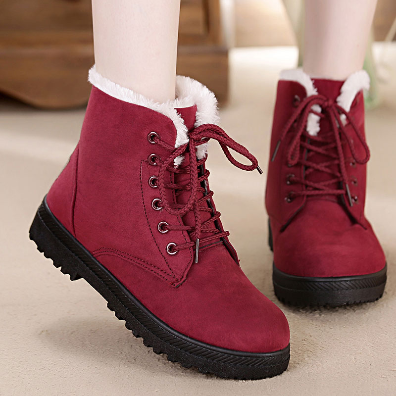 Winter Warm Boots Hidden High Heel Men Brown Boots Taller 7 CM2.76 Inches