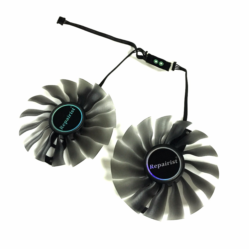 100MM FD10015H12S GTX1080/1070 ti GPU VGA Card Cooler Fan for <font><b>GeForce</b></font> Palit GTX1080ti <font><b>GTX1070ti</b></font> graphics card as replacement image