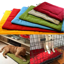 Plain Dog Crate Kennel Warm Dog Bed Mat Padding House Comfort Pet Nap Mat Dog Bed for Small Medium Large Dog Breed
