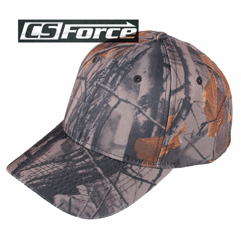 CS Force Outdoor Camo Baseball Hats Men Top Quality Military Hunting Caps Airsoft Tactical Camouflage Snapback Caps 55-65cm