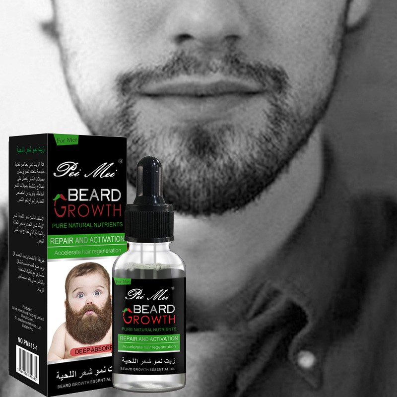 30ml Natural Organic Beard Oil Beard Wax Hair Loss Products Leave-In Conditioner