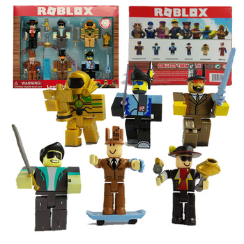 6pcs/set Roblox Blocks Figure Toy 7cm Game Figuras Roblox Boys Toys for Children Игрушка