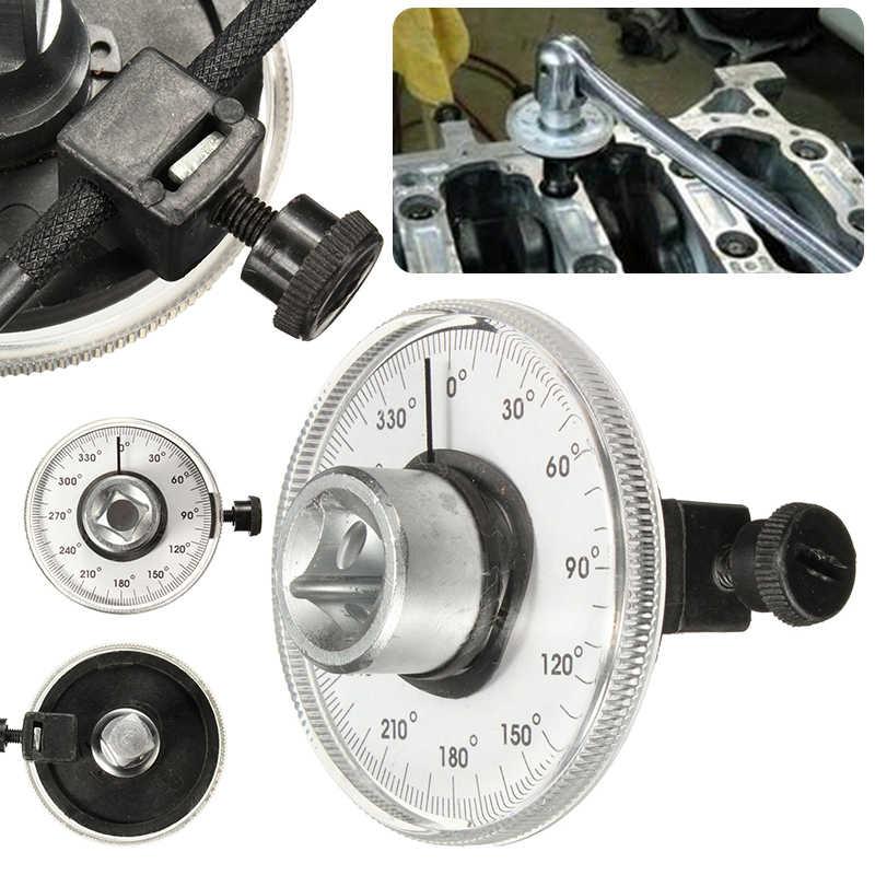 Универсальный Профессиональный 1/2 дюймовый регулируемый привод датчик угла поворота Авто гаражный инструмент набор для ручных инструментов гаечный ключ