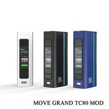 Vape Mod Electronic Cigarette Move Grand 80W Box Mod Fit Atomizer 510 Thread single 18650 Battery e cigarettes mod vape