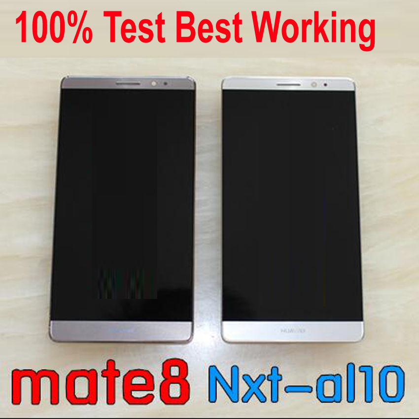 100% Tested Best Working LCD Display Touch Panel Screen Digitizer Assembly Sensor + Frame For Huawei Mate 8 NXT-TL10 NXT-CL00100% Tested Best Working LCD Display Touch Panel Screen Digitizer Assembly Sensor + Frame For Huawei Mate 8 NXT-TL10 NXT-CL00
