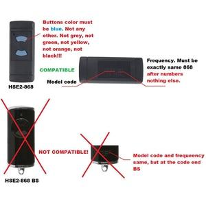 Image 3 - Clone HORMANN HSM2, HSM4 Garage Door gate Remote Control Replacement 868 MHz Fob,HORMANN gate control,transmitter 868.3mhz