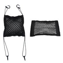 Universal Nylon Car SUV Trucks Storage Hanging Holder Organizer Seat + Rear Pocket Bag Mesh Net