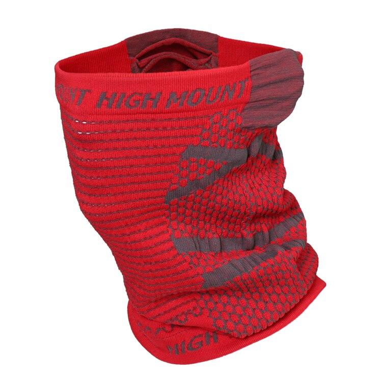 Muffler Scarf Bandanas Orange High-Elastic New Humont Casual Riding Men Mask Wraps Hole-Belt