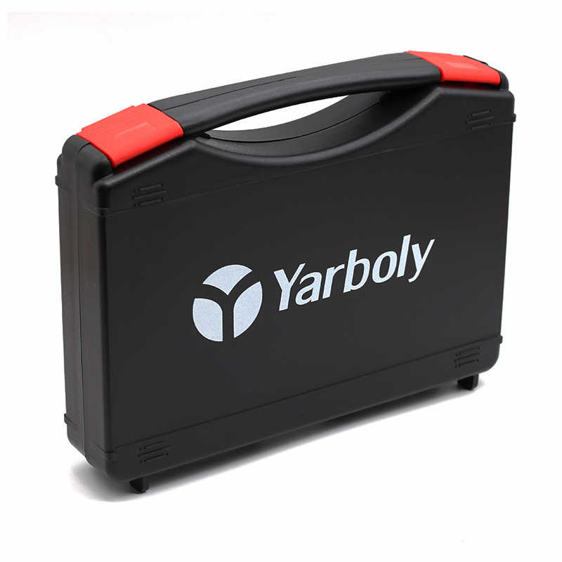 Portable Parts Box Soldering Iron Hardware Screwdriver Plastic Carry Storage Box Case Suitcase Repair Tool Toolbox  23*18*4.5 CM