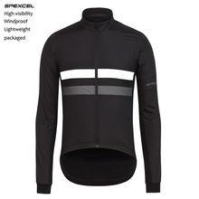 SPEXCEL новая длинная ветрозащитная куртка с длинным рукавом для велоспорта ветрозащитная куртка со светоотражающей полоской для низкой освещенности