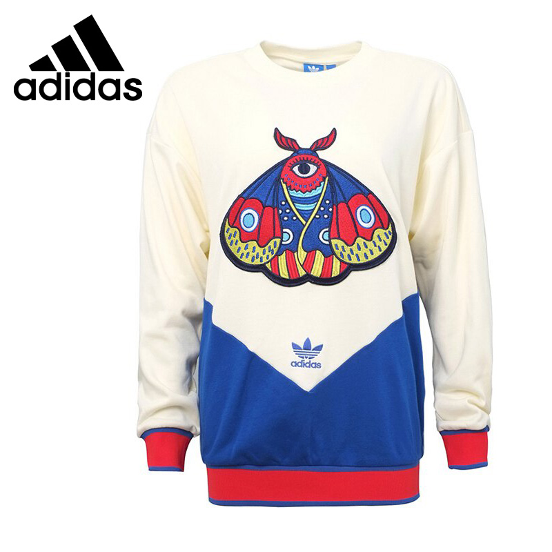 Original New Arrival Adidas Originals EA SWEATER Women's Pullover Jerseys Sportswear все цены