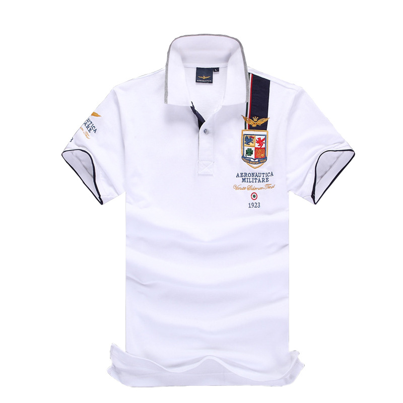 2019 New Brand Men's Big Horse Embroidery   Polo   Shirt For Men luxury   Polo   Men Cotton Short Sleeve shirt jerseys T Plus Size