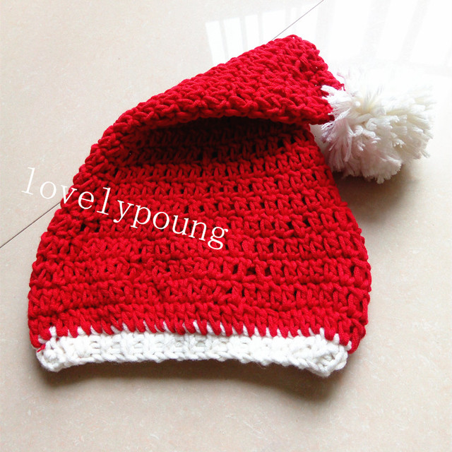 dee74eb1f US $7.59 5% OFF|holiday sale baby santa hat,christmas hats Holiday hat baby  hat knitted 100% cotton MOQ 1pc-in Hats & Caps from Mother & Kids on ...