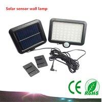 1 PZ corpo del sensore Solare lampada da parete 56 Led luci del giardino esterno split garage luci IP65 Spotlight Garden Light Path paesaggio