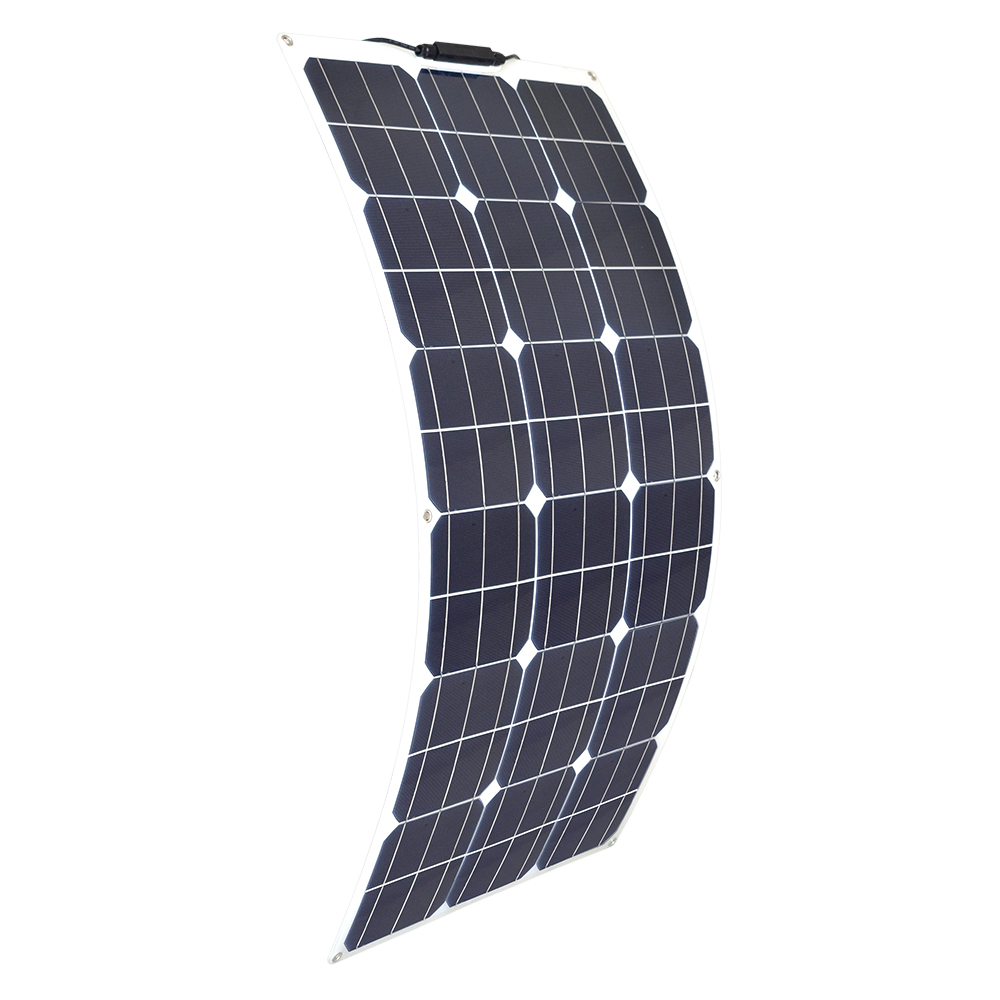 цена на BOGUANG 18V 80W Flexible Solar Panel Bendable Solar Charger Module with MC4 for RV Boat Cabin Tent Car Trailer 12v Battery