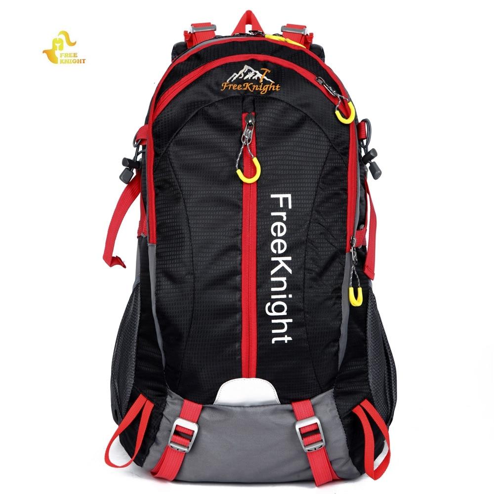 Prix pour Livraison Chevalier FK0215 30L Grande Capacité Nylon Résistant À L'eau Sac À Dos Sac À Dos pour Voyager En Plein Air Alpinisme Camping