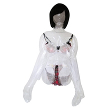 1pc Real Silicone Inflatable Sex Dolls Naked Cute Woman,Male Masturbator Device Blow Up SexDoll Transparent inflatable Love Doll