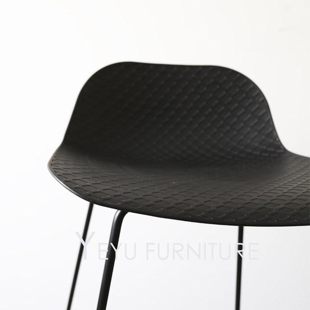 online shop modern design plastic and metal bar stool fashion loft