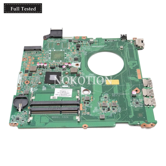 NOKOTION 762526-501 762526-001 Main board For HP Pavilion 15 15-P laptop motherboard DAY22AMB6E0 A8-6410 CPU onboard DDR3L
