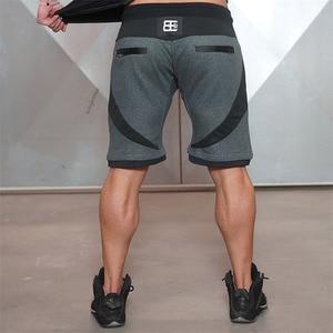 Image 3 - 2018 marke Mens Neue Ingenieure Kompression Turnhallen Shorts Sommer Bermuda Shorts Fitness Männer Bodybuilding Herren Körper Casua Shorts