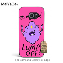Adventure Time Lumpy Space Princess Colorful Cute Phone Accessories For GALAXY s6 edge case