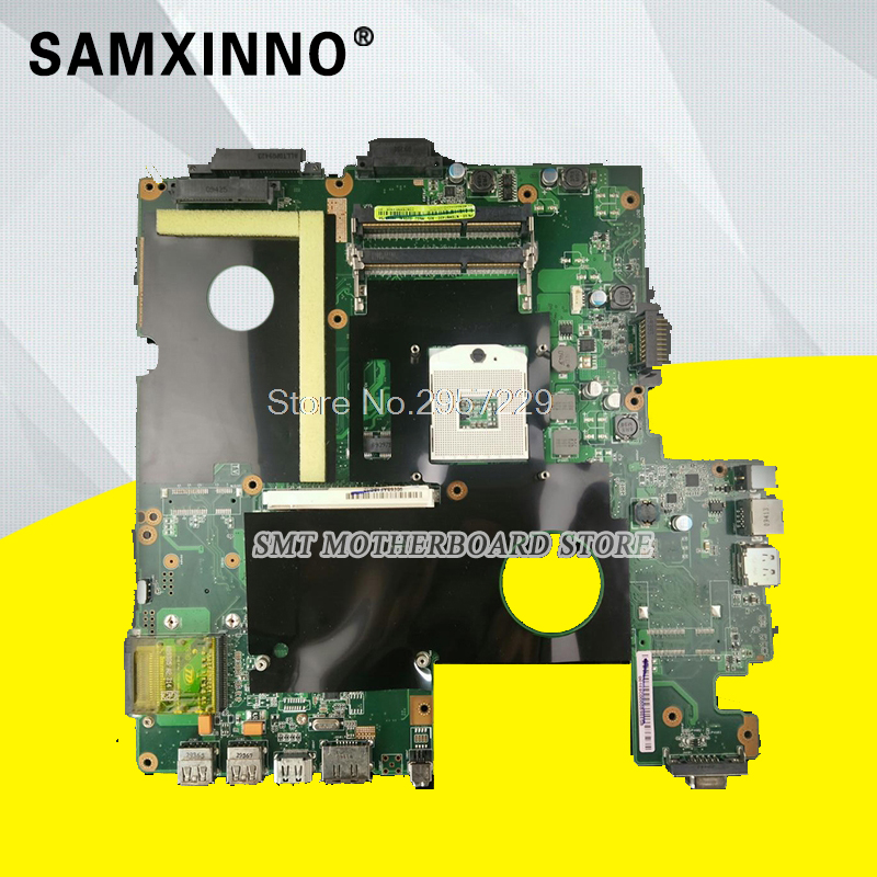 M60J Laptop Motherboard For ASUS S-6