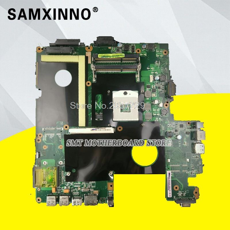 M60J Laptop Motherboard For ASUS S-6