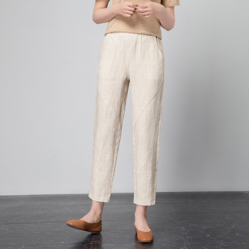 New Women's Casual OL Office Pencil Trousers Girls's cute Slim Stretch Pants fashion Candy Jeans Pencil Trousers