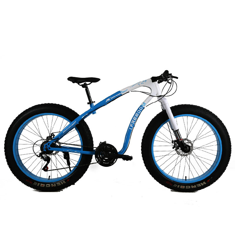 24 Speed 27 Speed Off Road Beach Snow Bike 26 Inch 4 0 Super Wide Tires