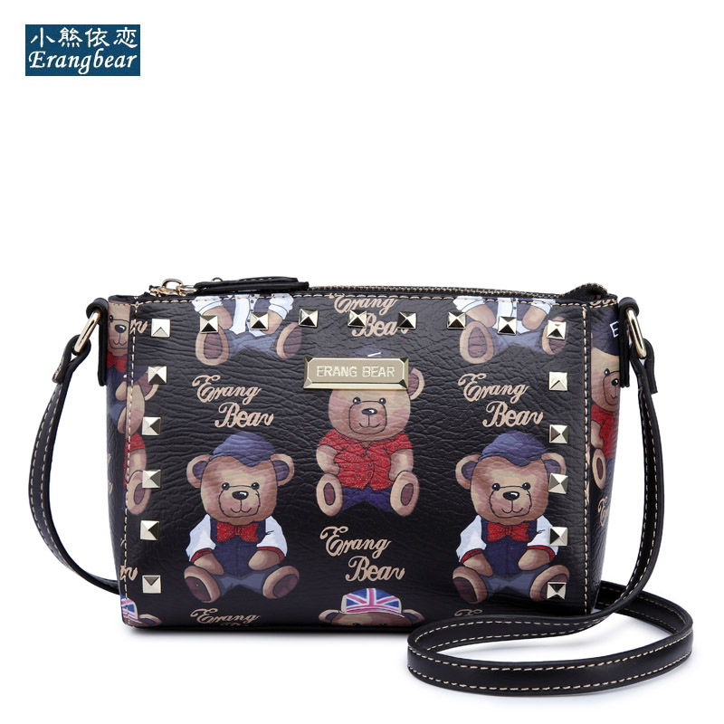 Cute  small handbags hotsale women evening clutch ladies mobile purse famous brand shoulder messenger crossbody Rivets bags bao купить